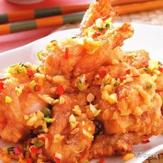 椒鹽田雞食譜 - 蛙肉料理 - 楊桃美食網 專業食譜