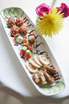 Food Platter- Great idea for Bridal party gettting ready in suite.