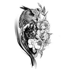 Owl Forearm Tattoo, Forearm Cover Up Tattoos, Owl Tattoos On Arm, Owl Tattoo Chest, Cover Up Tattoos For Women, Owl Tattoo Drawings, Black Ink Tattoos, Baby Tattoos, Head Tattoos