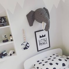 Monster Bedding Monochrome by ONO Design from Diddle Tinkers the home of children's luxury interiors