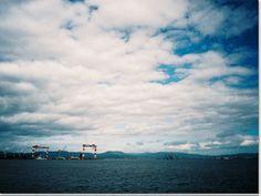 夢にまで見た函館どつくのゴライアスクレーン。かっこ良すぎ。
