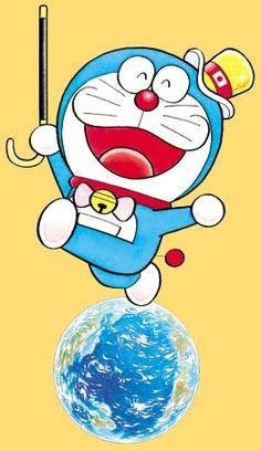 doraemon - Google Search Doraemon, Smurfs, Pop Art, Banner, Japan, Cartoon, Comics, Cats, Illustration