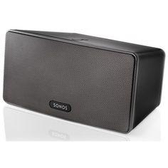 Sonos Play:3 -  Altavoces Inalambricos Sonos Play:3 Un reproductor todo en uno más pequeño y másatractivo, colócalo en una esquina y disfruta a logrande. #streaming #audioenred