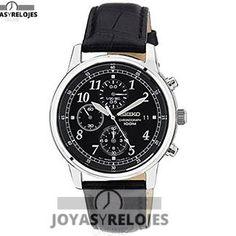 ⬆️😍✅ Seiko SNDC33P1 😍⬆️✅ Increíble ejemplar perteneciente a la Colección de RELOJES SEIKO ➡️ PRECIO 179.55 € Disponible en 😍 https://www.joyasyrelojesonline.es/producto/seiko-sndc33p1-reloj-cronografo-de-caballero-de-cuarzo-con-correa-de-piel-negra-sumergible-a-100-metros/ 😍 ¡¡Edición limitada!! #Relojes #RelojesSeiko #Seiko Compralo en https://www.joyasyrelojesonline.es/producto/seiko-sndc33p1-reloj-cronografo-de-caballero-de-cuarzo-con-correa-de-piel-negra-sumergible-a-100-metros/