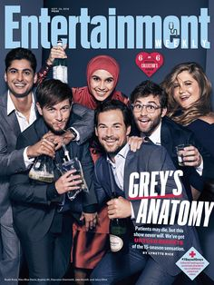 Exclusive: See all the stunning photos from EW's 'Grey's Anatomy' cover shoot Greys Anatomy Season, Greys Anatomy Cast, Derek Shepherd, Entertainment Weekly, Grey's Anatomy Wallpaper, Jackson Avery, Owen Hunt, Complicated Love, Movies And Series