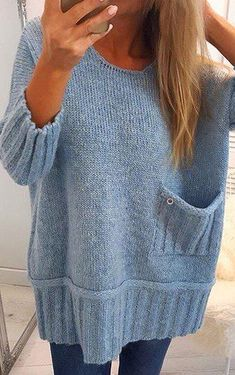 57 Casual Fall Outfits You Will Want To Keep – Fashion New Trends - Stricken Anleitungen Casual Fall Outfits, Chic Outfits, Country Outfits, Casual Winter, Party Outfits, Winter Outfits, Fashion Outfits, Diy Pullover, Knit Fashion