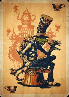 The Hatter by LuisMelon