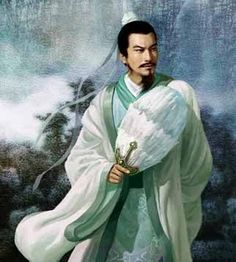 A gentle picture of Kongming