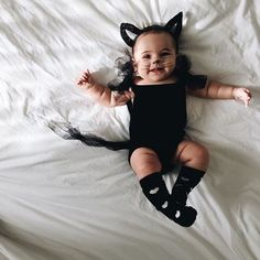 Be smitten with a kitten - Clever Costumes for Baby's First Halloween - Photos