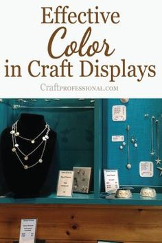 Retail Display Ideas for Craft Professionals at http://www.craftprofessional.com/retail-display-ideas.html