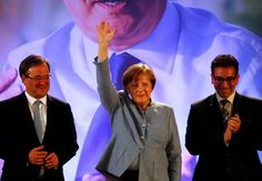 #world #news  Merkel's conservatives defeat SPD rivals in northern state vote