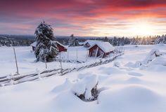 All sizes   Lillehammer Sunset   Flickr - Photo Sharing!