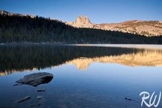 Lake Mary at Sunrise, Mono County, California