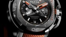 Clerc Hydroscaph Central Chronograph Watch | Perpétuelle