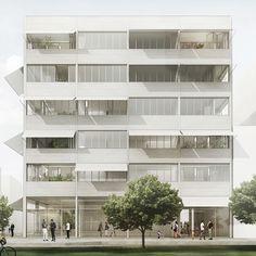 Ensemble residential buildings - Arrhov Frick