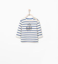 BOTTLE MOTIF STRIPED SWEATSHIRT 3-9