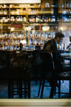 The Bookstore Bar in Seattle / photo by Katie Kett - downtown