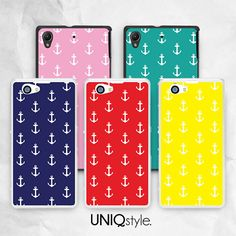 Nautical anchor style phone cover for Sony Xperia Z by Uniqstyle, $9.99