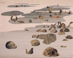 Kurt Kranz - Versinkende (Sinking one), 1931 #collage