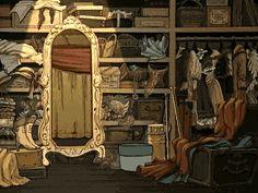 "Gif from titles of Ashita no Nadja (明日のナージャ, ""Tomorrow's Nadja""), a romance anime. Click through for animation. Watch Manga, Manga To Read, Ashita No Nadja, Dance Mirrors, Before We Go, Cartoon Gifs, Animation, Anime Life, Fairy Art"