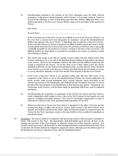 Free Land Trust Addendum Printable Real Estate Document  Free