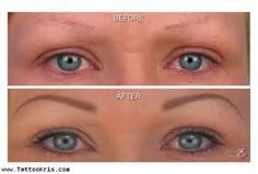 tattoed eyebrows - Yahoo Image Search Results