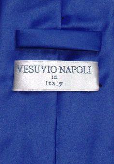 Vesuvio Napoli Solid ROYAL BLUE NeckTie & Handkerchief Men's Neck Tie Set  http://www.yourneckties.com/vesuvio-napoli-solid-royal-blue-necktie-handkerchief-mens-neck-tie-set-2/