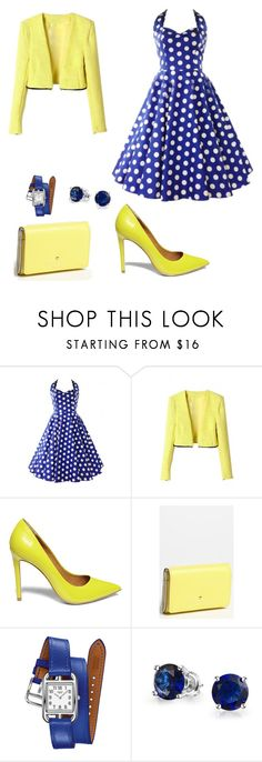 """""""80's"""" by liveevil94 on Polyvore featuring moda, Steve Madden, Kate Spade, Hermès i Bling Jewelry"""