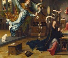 Jan de Beer  ocksåHenneken de Beer  cirka 1475 - 1528  nederländsk målare och tecknare.    The Annunciation,  ca. 1520.