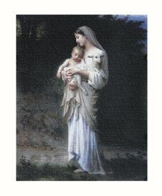 Divine Innocence 8x10 Canvas by Hirten | Catholic Shopping .com
