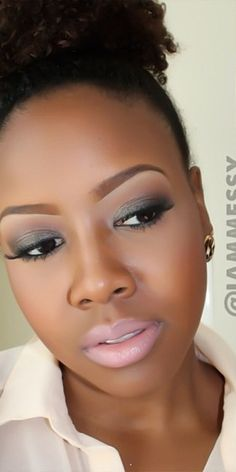 Makeup for dark skin #beauty #makeup