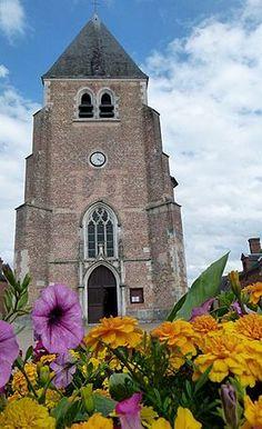 Eglise Saint-Martin à Nouan-le-Fuzelier (Loir-et-Cher)