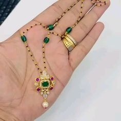 Gold Chain Design, Gold Ring Designs, Gold Bangles Design, Gold Earrings Designs, Necklace Designs, Wedding Jewellery Designs, Bridal Jewelry, Beaded Jewelry, Ruby Jewelry