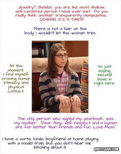 Amy Farrah Fowler Quotes – The Big Bang Theory