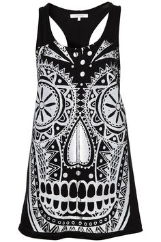 Skull Racerback by Illustrated People