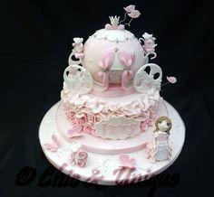 """Your Carriage Awaits My Princess""  ~ Cake  ART ~ all edible"