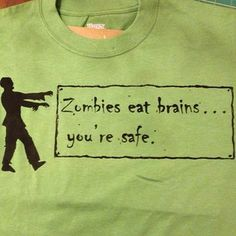 hazel and company: Zombie shirt
