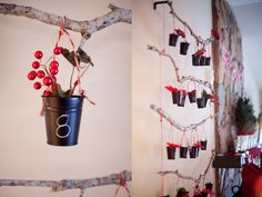 Step by step #tutorial for this #DIY Pottery Barn style #Christmas #Advent #Calendar