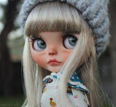 RESERVED - Harbin - OOAK Custom Art Blythe Doll by Rainfable Dolls (2016)