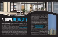 Magazine Spread My Adventure With Adobe Page Layout Design