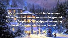 Dean Martin - A Marshmallow World With Lyrics Christmas song sung by Dean Martin. Merry Christmas Happy Holidays, Christmas Carol, Winter Christmas, Xmas Music, Christmas Music, Christmas Playlist, Christmas Videos, Christmas Concert, Favorite Christmas Songs