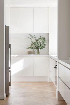 modern minimal kitchen #style #home #interiordesign