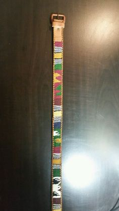 Southwestern Woven Leather Belt Multi Color Navajo Aztec Sz 34 in Clothing, Shoes & Accessories, Women's Accessories, Belts | eBay