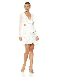 online shopping for C/Meo Collective Women's Ember Long Sleeve Ruffle Dress from top store. See new offer for C/Meo Collective Women's Ember Long Sleeve Ruffle Dress Dns, Dress Online, Ruffle Dress, Women's Fashion Dresses, Anonymous, Designer Dresses, Calvin Klein, White Dress, Public