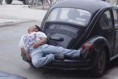 VW-Volkswagen Käfer Bett VW-Beetle Bed Fun Spass Humor Idee