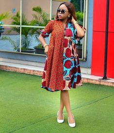 Ankara Short Gown Styles Combination Design for Next Party. Ankara Short Gown Styles Combination Design for Next Party Short African Dresses, Ankara Short Gown Styles, African Print Dresses, African Prints, African Fabric, Short Dresses, Dresses Dresses, Dress Styles, African Fashion Ankara