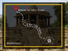 An architectural marvel in itself, The Sun Temple is designed such that the sunlight fell on the central image during the equinoxes. Known for its #stepwell and 52 finely carved pillars, it is yet another not-to-be-missed-out place while visiting Balaram Palace Resort. #SunTemple #Modhera #Gujarat #Travel