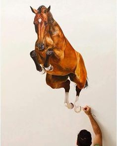 Wall painting! Wow!