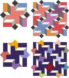• DIAMOND - juntar las piezas de papel con Claudia Schmidt Inglés