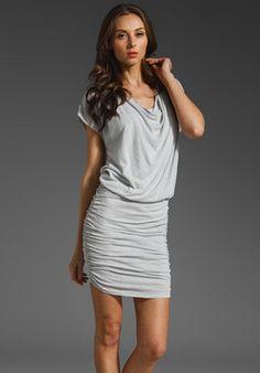 ShopStyle: Alice + Olivia Cowl Neck Drape Dress